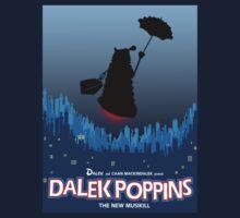 Dalek Poppins T-Shirt Kids Clothes