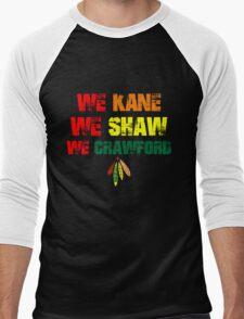 we kane We Shaw We Crawford Men's Baseball ¾ T-Shirt