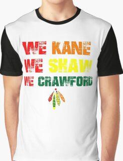 we kane We Shaw We Crawford Graphic T-Shirt