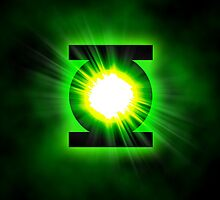 Green Lantern Superhero Logo by neutrone