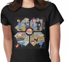 Wildago's Freddy Arrives Womens Fitted T-Shirt