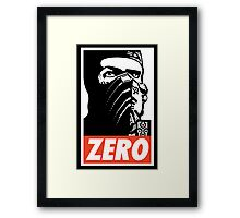 Sub Zero Has A Posse Framed Print