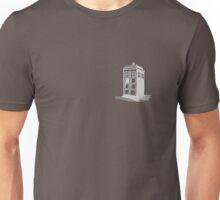 Dr Who's Tardis - Grey Unisex T-Shirt
