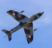 Hawker Hunter T.7 WV372/R G-BXFI by Colin Smedley