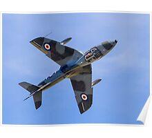 Hawker Hunter T.7 WV372/R G-BXFI Poster