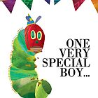 Boys' Caterpillar Birthday Card by Digital Art with a Heart