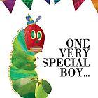Boys' Caterpillar Birthday Card by Digital Art with a Heart