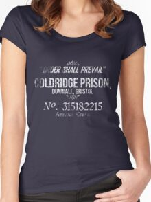 Coldridge Prisoner Shirt Women's Fitted Scoop T-Shirt