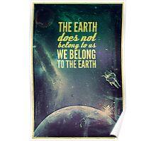 We Belong, not Own. Poster