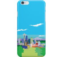 Seattle Pixel Skyline iPhone Case/Skin