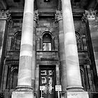 Main entrance Parliament House Adelaide. by Nicholas Griffin