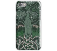 Tree of cognizance - acrylic on board iPhone Case/Skin