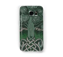 Tree of cognizance - acrylic on board Samsung Galaxy Case/Skin