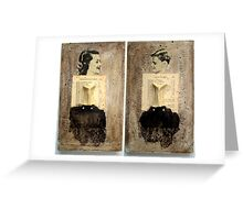 LITANY OF THE MOTHER AND THE SON Greeting Card