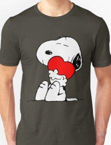 Snoopy Heart Love T-Shirt