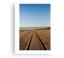 pbbyc - Beach Trax Canvas Print
