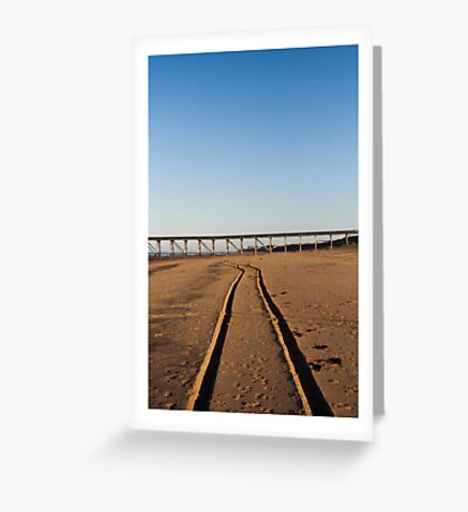 pbbyc - Beach Trax Greeting Card
