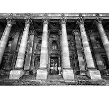 Parliament of South Australia pillars. Photographic Print