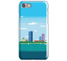 Boston Pixel Skyline iPhone Case/Skin