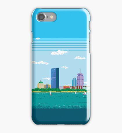 Boston Pixel Skyline iPhone Case/Skin