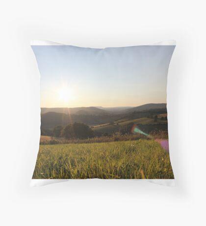 pbbyc - Wavey Valleys Throw Pillow