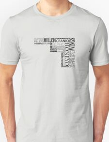 Words - Translation of the Longest word in English T-Shirt