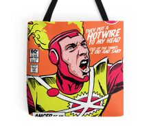 Post-Punk Heroes | Fire Tote Bag