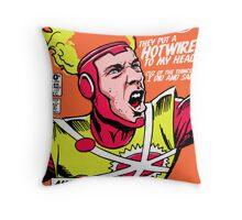 Post-Punk Heroes | Fire Throw Pillow