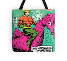 Post-Punk Heroes | Aqua Tote Bag