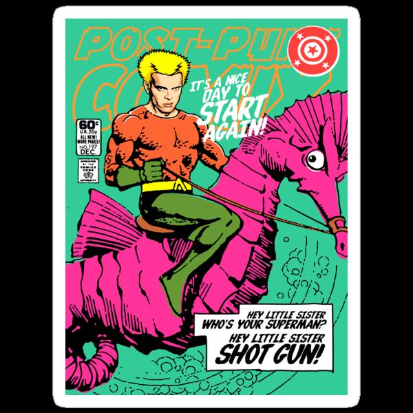 Post-Punk Heroes | Aqua by butcherbilly