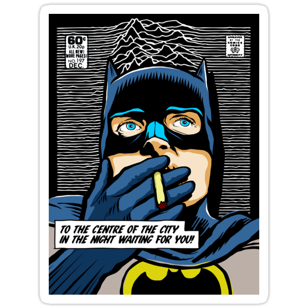 Post-Punk Super Friends - Bat by butcherbilly
