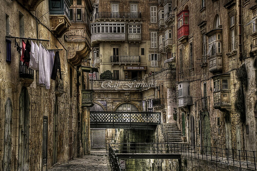 """EAST STREET VALLETTA MALTA"" by RayFarrugia"