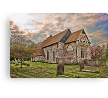 St Mary Kenardington Canvas Print