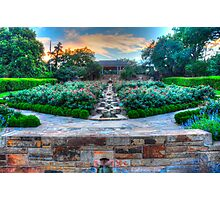 Fort Worth Botanical Gardens Photographic Print