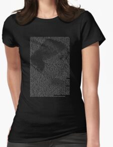 Woolf To The Lighthouse Womens Fitted T-Shirt