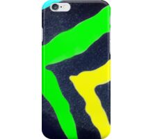 Rain Bow Zebra iPhone Case/Skin