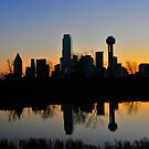 Sunrinse on the Trinity River by Jay  Goode