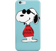Snoopy Joe Cool iPhone Case/Skin