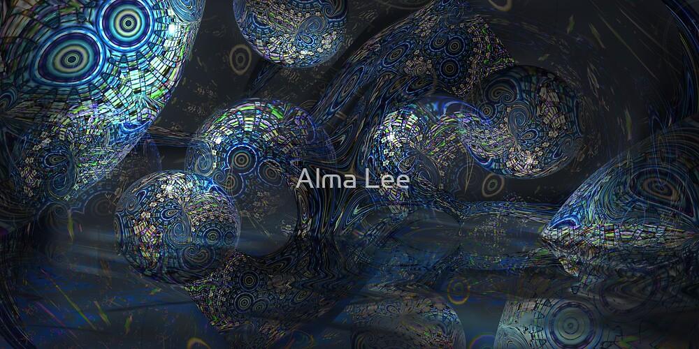 Mermaid's Cavern by Alma Lee