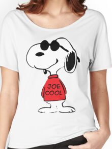 Snoopy Joe Cool Women's Relaxed Fit T-Shirt