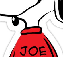 Snoopy Joe Cool Sticker