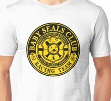 Baby Seals Club Racing Black T-shirt Unisex T-Shirt