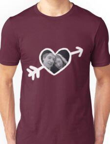 Mr. and Mrs. Pond Unisex T-Shirt