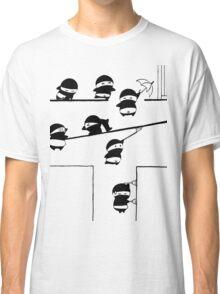 Chubbi Ninja - Black Classic T-Shirt