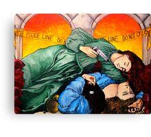 Teenage Wasteland Canvas Print