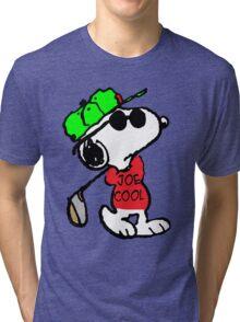 Joe Cool and Golf Tri-blend T-Shirt