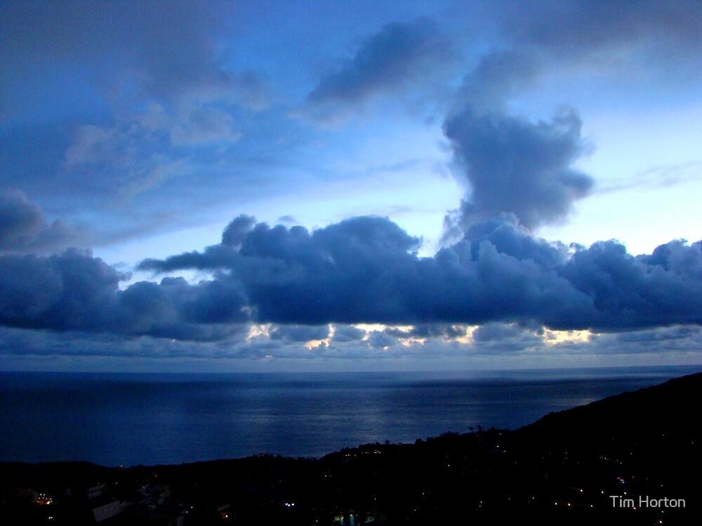 Blue sunset by Tim Horton