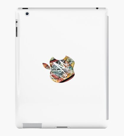 Apple - White. iPad Case/Skin