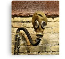 With Clarinet Canvas Print
