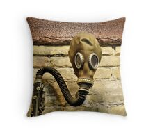 With Clarinet Throw Pillow